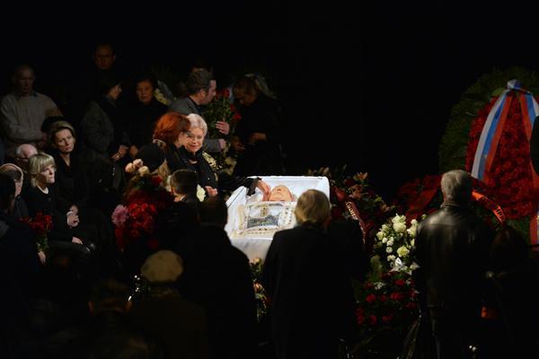 Прощание с Николаем Караченцовым