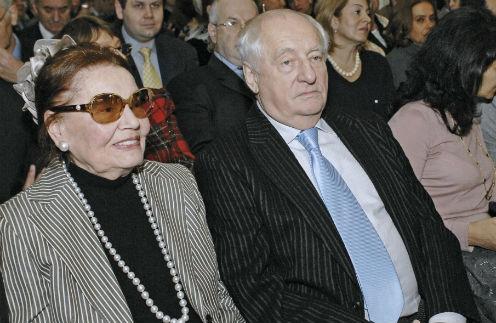 Нина Лапшинова и Марк Захаров