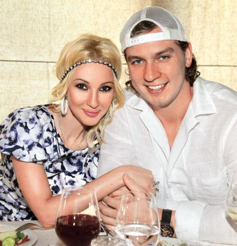 Лера Кудрявцева с супругом Игорем Макаровым