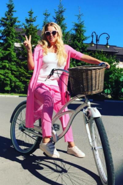 Ирина Дубцова предпочитает активный образ жизни