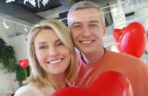 Екатерина Архарова и ее муж Артем