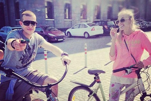 Надежда Сысоева и Роман Пан любят спорт