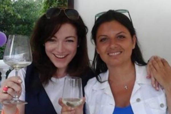 Алена Хмельницкая и Маргарита Симоньян на дне рождения маленькой Ксении