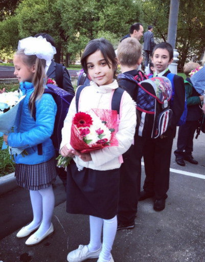 Дочь Александра Бердникова Милана