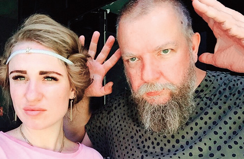 Сегодня Сергей Пахомов работает с Валерией Гай Германикой над новым сериалом
