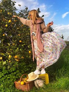 Ника лично собирала лимоны для ликера