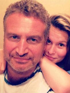 Леонид Агутин со старшей дочкой