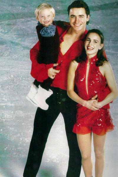 Сергей с женой и дочерью