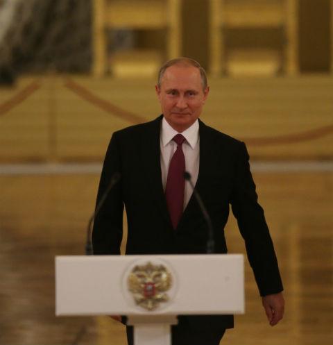 Владимиру Путину исполнилось 64 года