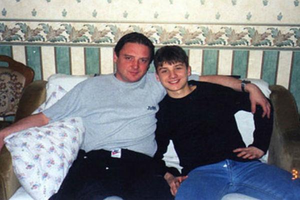Сергей Лазарев с отцом