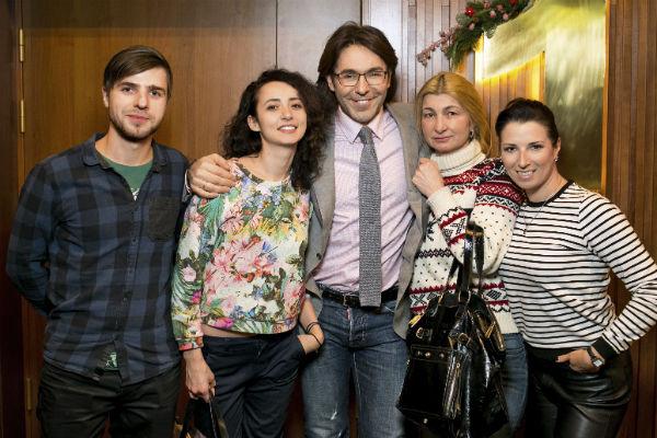 Вячеслав Тихонов, Лена Синельникова, Андрей Малахов, Лариса Саблина и Ангелина Сурина