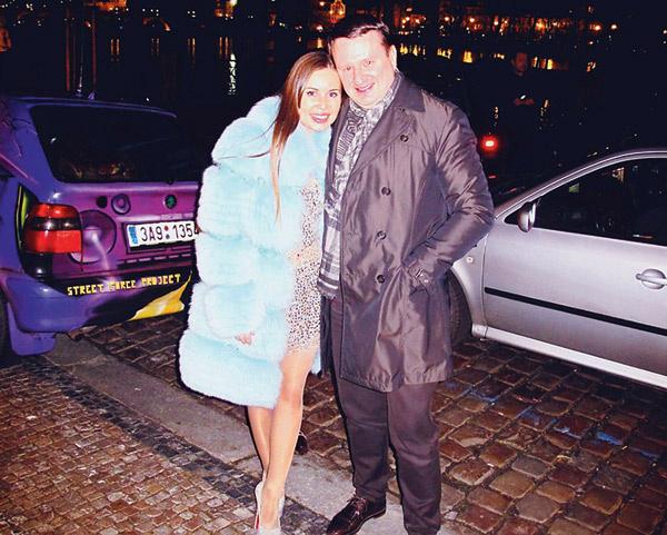 Юлия и Игорь часто путешествуют вместе. На фото – пара в Праге, май 2013 года