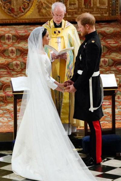 Церемония прошла в Виндзорском замке
