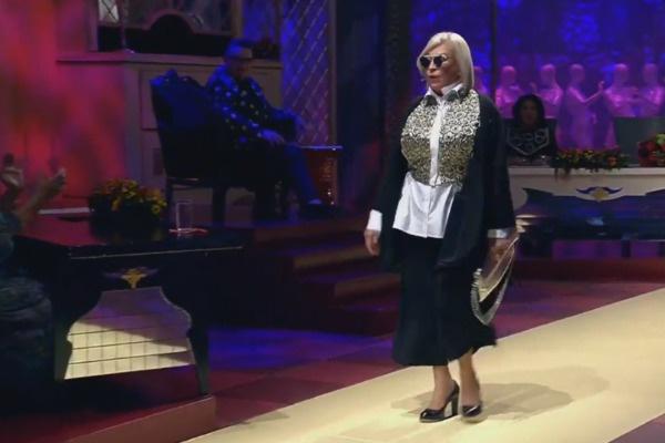 Зрители не узнали Людмилу, когда она вышла из комнаты стилистов