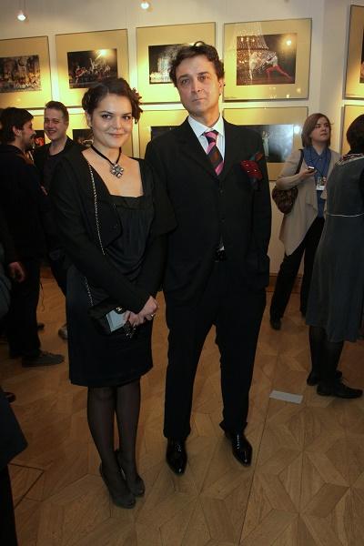 Александр Лазарев-младший с дочерью Полиной