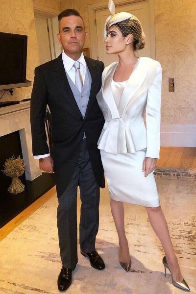 Робби Уильямс с супругой также оказались в числе гостей