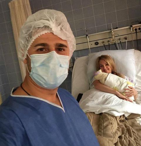 Дарья и Сергей Пынзарь с сыном