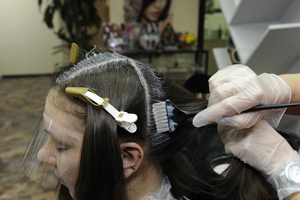 Волосы нашей героини не встречались с краской семь лет