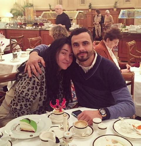 Лолита и Дмитрий Иванов на утреннем праздничном завтраке