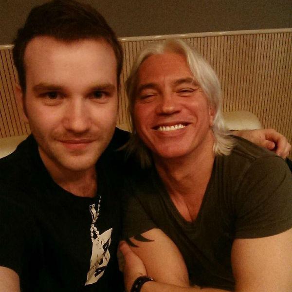 Олег Жолтиков и Дмитрий Хворостовский