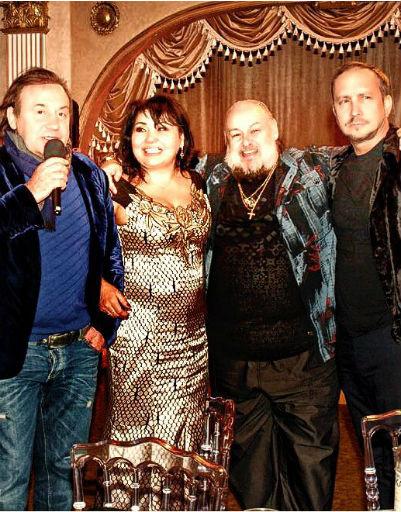 Евгений Кемеровский, Клара Кузденбаева, Александр Савин и Данко