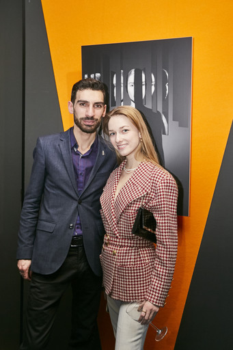 Директор музея «ТАПАН» Давид Багдасарян и живописец Анастасия Артемова