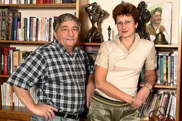 С третьей женой Элеонорой Филиной они даже вели телепрограмму, получившую ТЭФИ