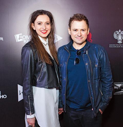 Андрей Гайдулян с новой возлюбленной Александрой