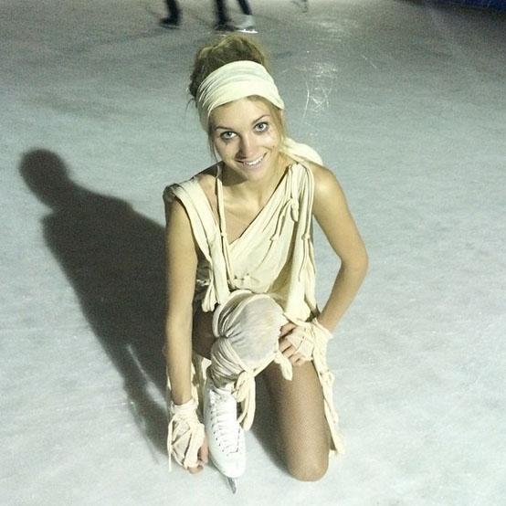 Кристина Асмус не отказывалась от тренировок даже с температурой под сорок