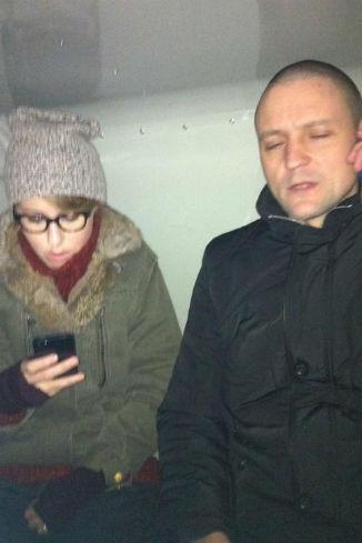 Ксения Собчак и Сергей Удальцов