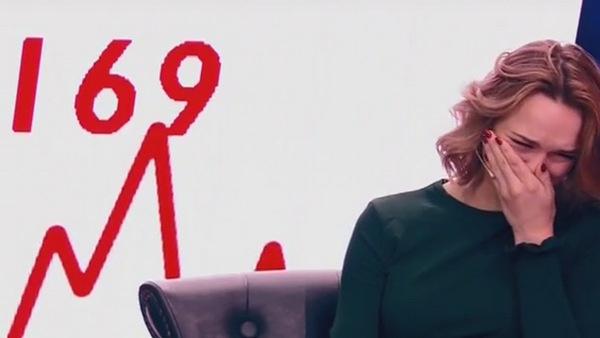 В эфире передачи Диана Шурыгина порой не смогла сдержать эмоций