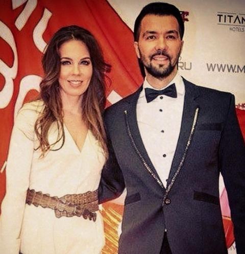 Денис Клявер с женой Ириной