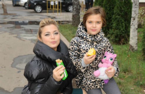 Дочка Ирины Пеговой - Таня