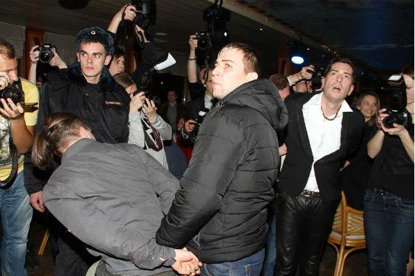 Максима Покровского задержала полиция