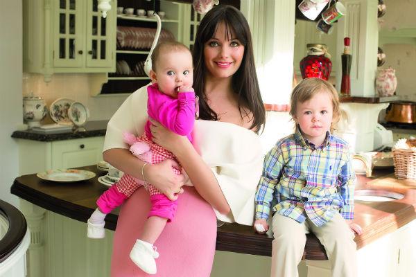 Оксана быстро пришла в форму после родов. Ей помогли массажи и биодобавки