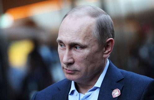 Владимир Путин в Американском доме