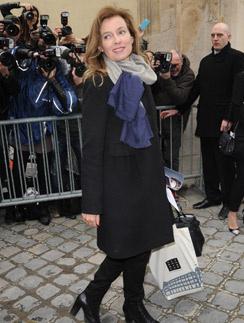 Валери Триервейлер перед модным показом в Париже