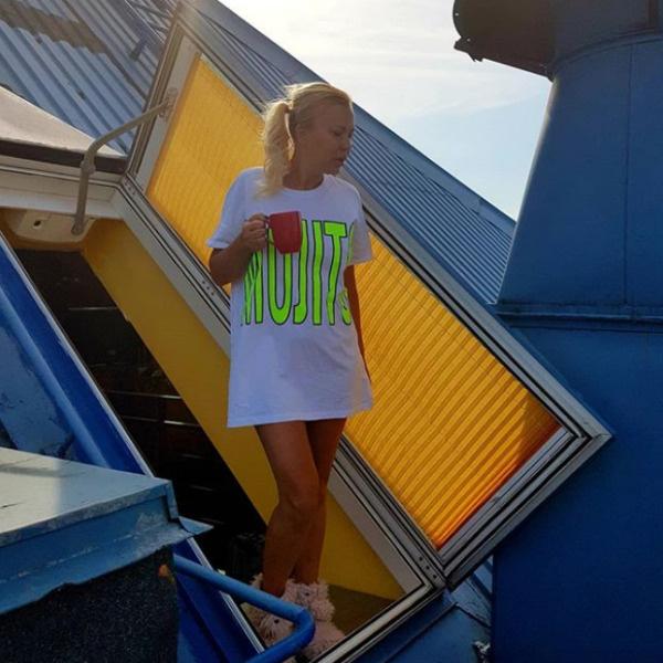 Юлия живет в пентхаусе
