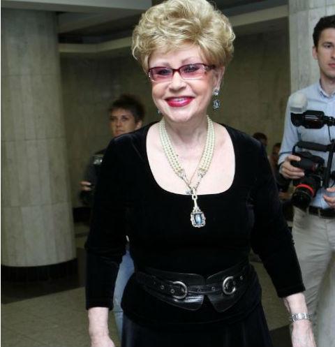 Светлана Моргунова в 2014 году