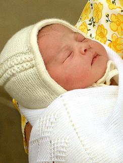 Принцесса Шарлотта Елизавета Диана Кембриджская
