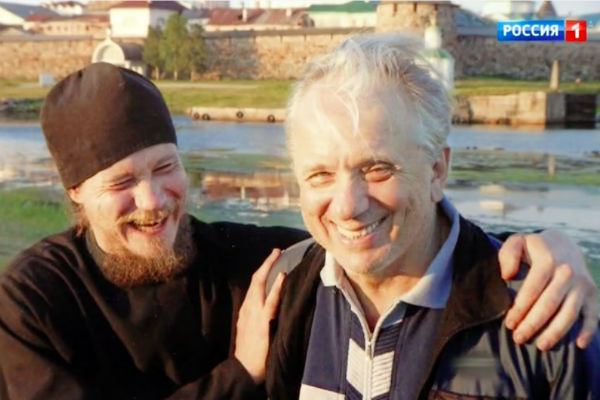 Евгений Стеблов с сыном Сергеем