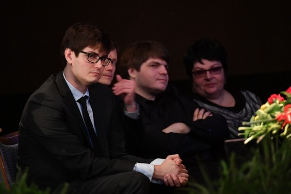 Евгений и Дмитрий Евтушенко, сыновья знаменитого поэта