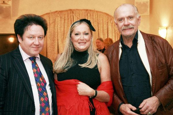 Татьяна Михалкова, Никита Михалков и Александр Митрошенков