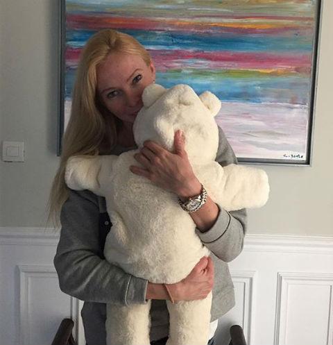 Татьяна Тотьмянина с дочерью Мишель