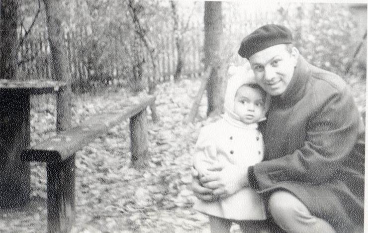 Маленький Филипп Киркоров с отцом Бедросом