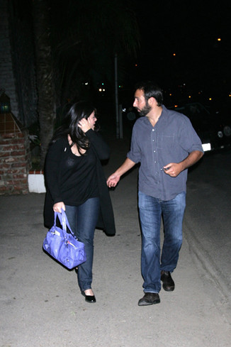 В 2008 году папарацци поймали Монику с бойфрендом
