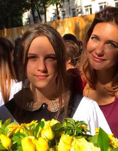Екатерина Климова со старшей дочерью Елизаветой