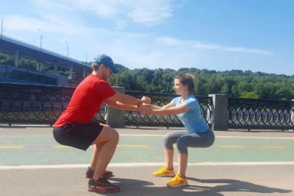 Совместные тренировки - часть жизни супругов