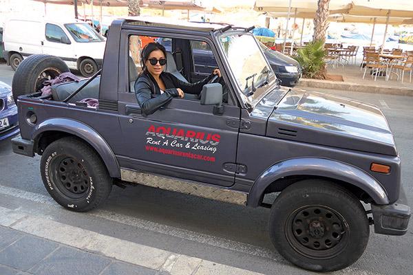 По Мальте Ани и Мурат передвигались на арендованном автомобиле...