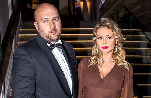 Ксения Новикова с супругом